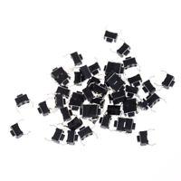 30x Momentary Tact Tactile Push Button Switch 2 Pin DIP Through Hole 3x6x4.3mmPN