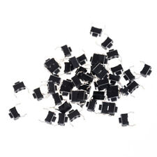 30x Momentary Tact Tactile Push Button Switch2 Pin DIP Through Hole 3x6x4.3mm BB