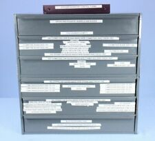 Zimmer Storage Cart With Stryker Surgical Bur Burs Stryker Saw Blades More
