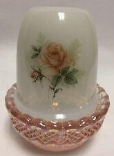 Fairy Lamp Candle Light - Pink Rose - Mosser USA