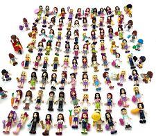 LEGO FRIENDS MINIFIGURES W/ HAIR CUTE GIRL FIGS FEMALE LADIES RANDOM $2.50 EACH