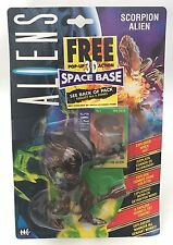 Kenner Aliens 1994 Scorpion Alien & Exclusive UK 3D Space Base