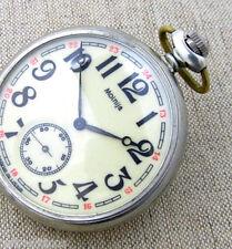 MOLNIJA MOLNIA SHIP MARINE CREW Vintage Soviet Russian Mechanical Pocket Watch