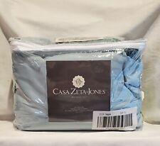 Casa Zeta-Jones 100% Rayon Made From Bamboo Full Sheet Set Color-Seaglass