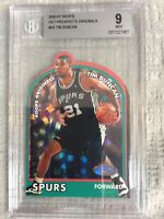 2000-01 Hoops Hot Prospects Originals #H2 Tim Duncan BGS 9 San Antonio Spurs