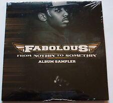 FABOLOUS - FROM NOTHIN' TO SOMETHIN' ALBUM SAMPLER - PROMO CD -  NEW