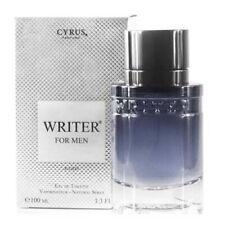 CYRUS Paris Bleu WRITER FOR MEN 100 ml EdT Brand NEW | Yves de Sistelle