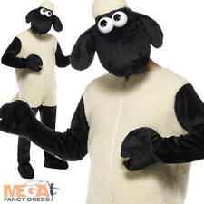 Shaun The Sheep TV & Film  Adult Farm Animal Character Fancy Dress Costume New