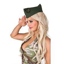 Adulto Mujer Ejército Militar Oficial Caqui Estudiante Trent Camuflaje Gorra