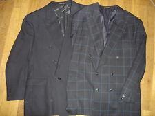 Lot 2 PACO RABANNE veste costume taille 58 FR  pure laine vierge