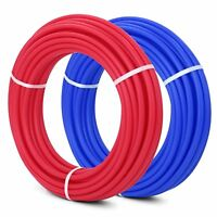 """3/4"""" x 100' Red and Blue PEX tubing (2) coils"""