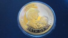 Medal United Kingdom to the Death From Diana-Queen Sally 1997 Gold Plated (M33)