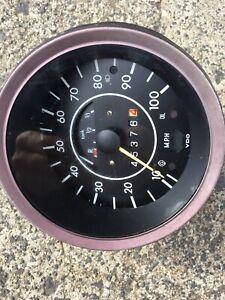 Vw Beetle Volkswagen Speedo Speedometer Fuel Gauge Vdo Super Bug Beach Buggy
