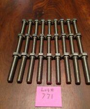 Hex Tap Bolt - 12mm - 1.75 x 65mm, 18-8 S. Steel, Qty: 27, Lot# 771