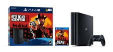 PlayStation 4 Pro 🎮 1TB PS4 Red Dead Redemption 2 💰🤠 System Bundle BRAND NEW