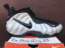 DS NIKE AIR FOAMPOSITE PRO sz 9 624041 002 METALLIC SILVER GALAXY PARANORMAN DB