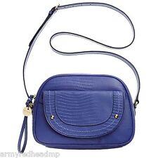 Juicy Couture Sierra Iris Mod Lizard Leather Satchel Crossbody Bag YHRU3850