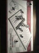 Across The Board Horseracing Game, Wood . New Open Box. Made In America