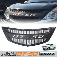 MATTE BLACK FRONT WHITE GRILLE GRILL FIT FOR MAZDA BT50 BT-50 PICKUP 2012 2015