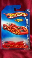 HOT WHEELS GROUND FX HW SPECIAL FEATURES '09 REMOVABLE BODY ORANGE DIECAST 1:64