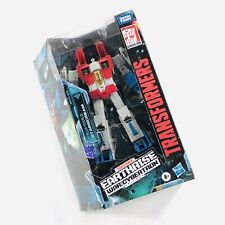 Transformers STARSCREAM FIGURE Earthrise Voyager Class War For Cybertron Trilogy