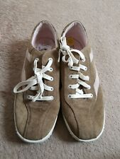 Tretorn Mens Tan Suede Trainers Size 7.5
