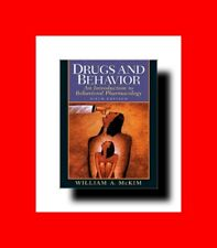 MEDICAL BOOK:DRUGS AND BEHAVIOR*AN INTRODUCTION TO BEHAVIORAL PHARMACOLOGY/PSYCH