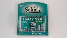 Schick Tracer FX Sport 10 Refill Blades