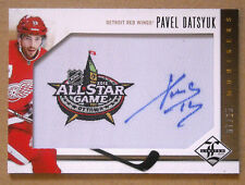 2012/13 PAVEL DATSYUK PANINI LIMITED MONIKERS AUTOGRAPH AUTO SP /25