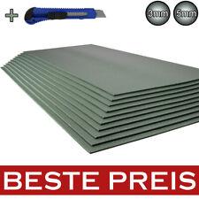 5-200m2 Trittschalldämmung 3mm & 5mm XPS Grün Boden Laminat Parkett Unterlage