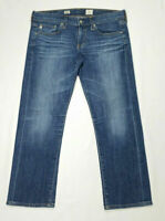 AG Adriano Goldschmied Women Size 28 Tomboy Crop Jeans Relaxed Straight Low Rise