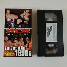WCW Magazine The Best of the 1990's Wrestling VHS