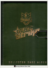 2011 Select NRL Strike Trading Cards Official Album (No Pages)