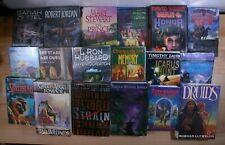 SCIENCE-FICTION & FANTASY Books! David Weber Timothy Zahn Lot of 18 Hardcover