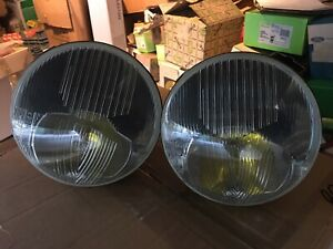 Headlight Marchal Amplilux Peugeot 403 404 Citroën Id DS Matra Escort MK1 Porch