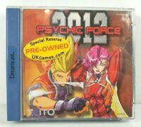 Retro Psychic Force 2012 Sega Dreamcast - CIB - Working - Good - PAL - Complete