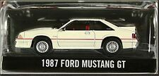 1987 Ford Mustang GT 5.0 50TH Anniversary Fox Body Rubber Tires 1/64 Scale Rare