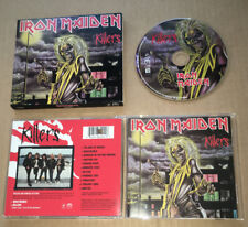 IRON MAIDEN Killers LIMITED RARE PROMO ONLY STICKERED PRESSING CD 1998 USA Press