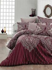 3 tlg Bettwäsche Bettgarnitur Bettbezug 100% Baumwolle Kissen 155x220 cm LALE BO