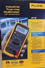 Fluke 87V Industrial Multimeter    **New in Box**    MSRP $385