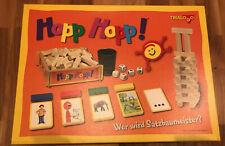 Hopp Hopp! Lernspiel v. TRIALOGO Kinder ab 4 Jahre NEU O-verpackt Holzbausteine
