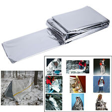 Outdoor Emergency Camping Tent Insulation Blanket First Aid Travel Survival Kit