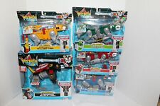 Playmates 2017 Classic 1984 Voltron Black/ Red/ Blue/ Yellow/ Green Lion Set