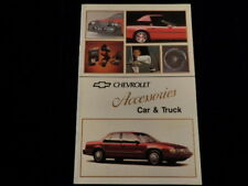 Vintage Chevrolet Car & Truck Accessories Brochure   Q312