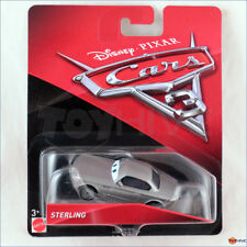 Disney Pixar Cars 3 - Sterling Silver Mattel diecast car