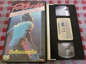 Footloose - CIC 1984 pre-cert ex-rental VHS video - Kevin Bacon/Lori Singer