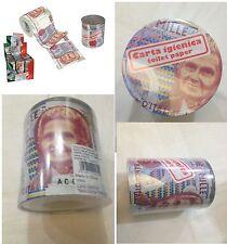 Kit 2 Rotoli Carta Igienica 1000 Lire Confezionati in barattolo PVC - Nuovi