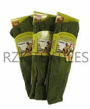 3 Pairs Of Men's Army Socks, Thermal Long Military Socks HEAT MAX, Size 6-11