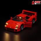 Game of Bricks LED Light Kit ONLY for Ferrari F40 10248