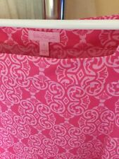 Lilly Pulitzer Pink & White Size 4 Dress
